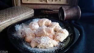 Turske kiflice sa kokosovim brašnom