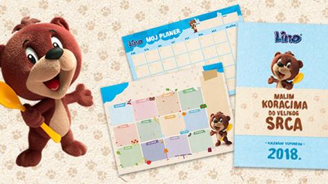 Lino vam poklanja sasvim drugačiji Lino kalendar!