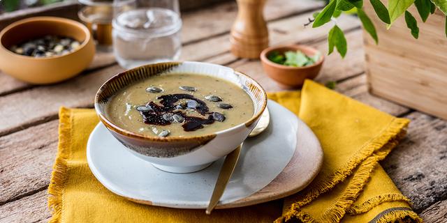 Krem juha sa sjemenkama