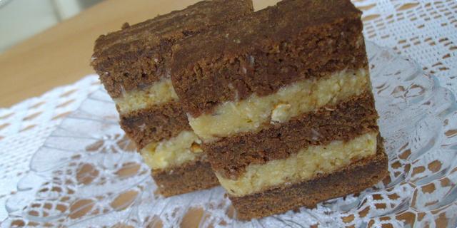 5bf0d6bef4c43 Čokoladni kolač sa kremom od kokosa i oraha — Coolinarika