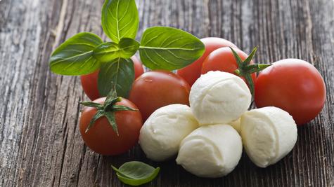Osvježavajuća mozzarella