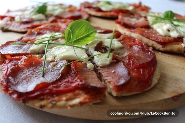 Pizza (zdravija verzija)