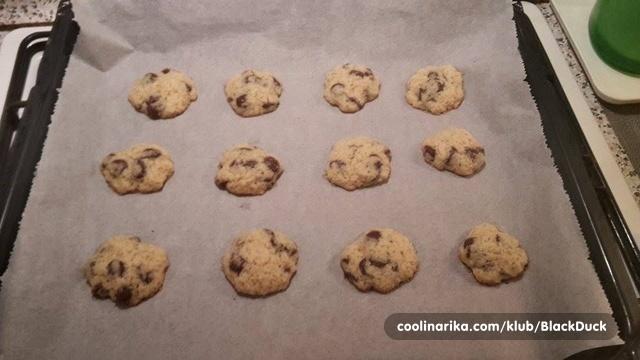 masni crni cookie