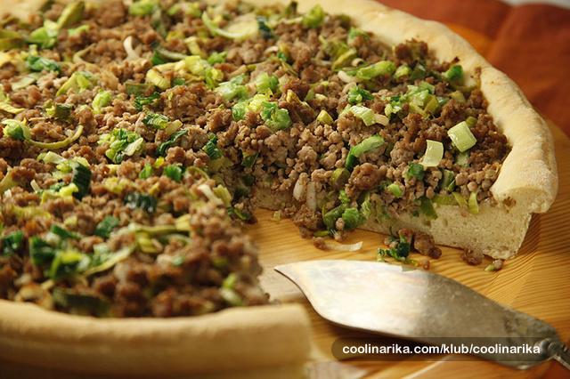 Arapski kruh s mesom