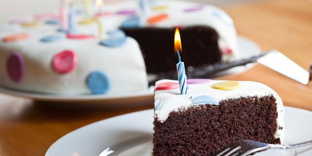 Povijest rođendanske torte