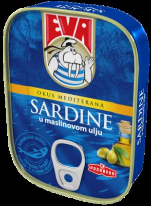 Sardine u maslinovom ulju