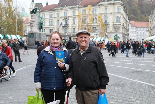 Vegeta 70 godina-Prešernov trg