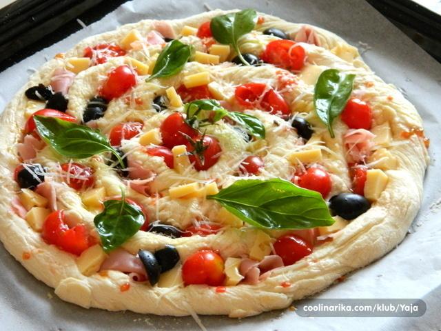 Twisted pizza-zarolana pizza