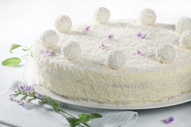 Rafaelo torta - ivonab