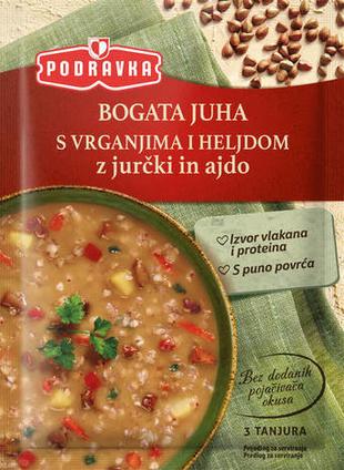 Podravka Bogata juha s vrganjima i heljdom