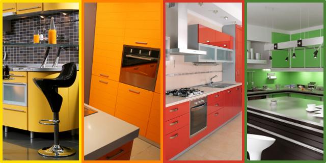 kuhinja u boji