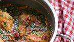 Piletina sa pečenim paprikama i rižom