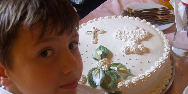 Prvopričesnička torta Karlo