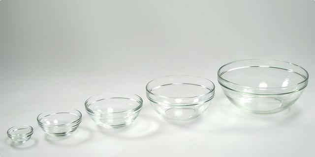 Staklene zdjele