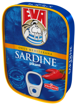 Sardine pikant