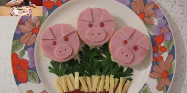 """sendviči za dječji rođendan recept Sendvici """"Tri praseta"""" — Coolinarika sendviči za dječji rođendan recept"""