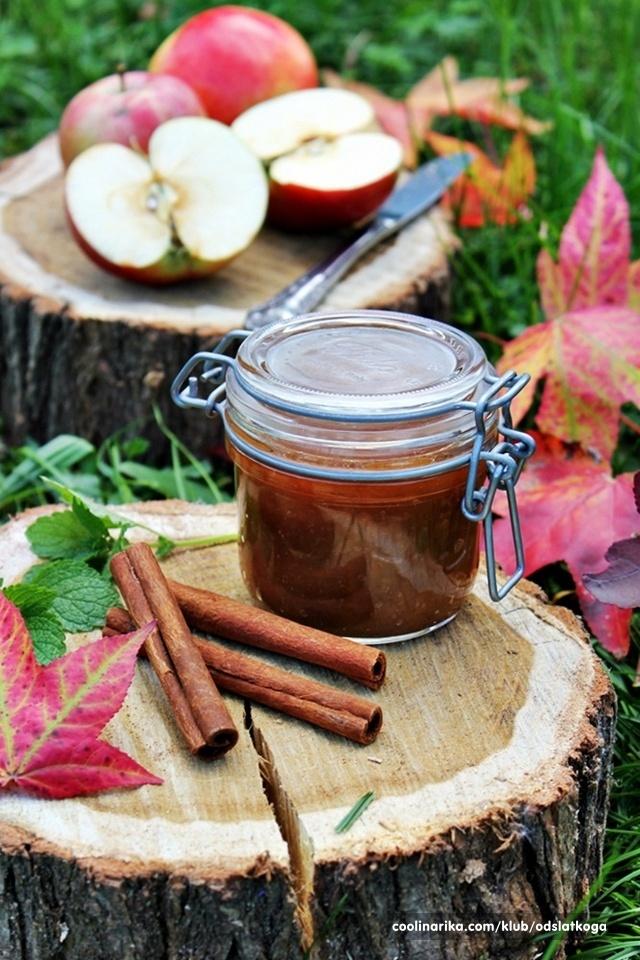 Marmelada od jabuka s metvicom