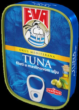 Eva Tuna fileti u maslinovom ulju
