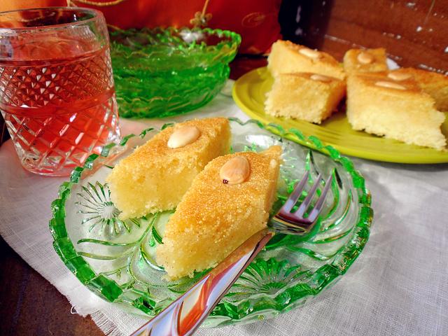 BASBOUSA-marokanski kolač od griza sa šećernim sirupom - anavalbi