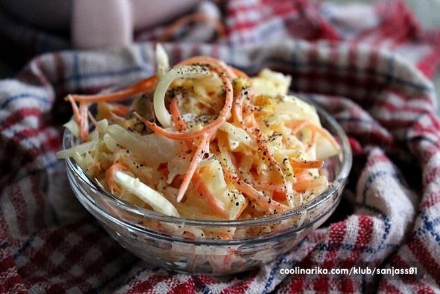 Osvježavajuća salata od kiselog kupusa od damira1!