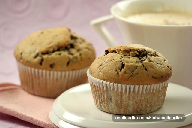 Američki muffini s čokoladom i cappuccinom