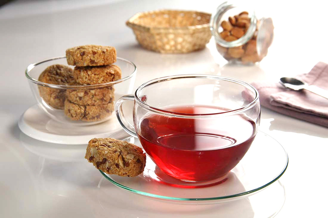 Čaj s okusom šljive