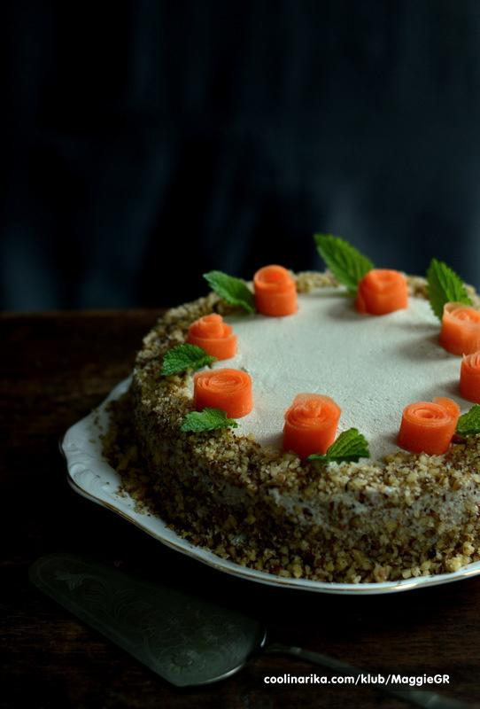 Sirova torta od mrkve
