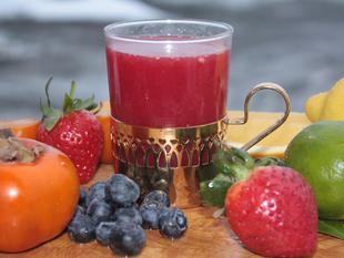 Juice od crvene narance