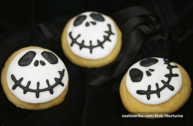Keksi od bijele čokolade i naranče od Dianamakarska u Halloween izdanju