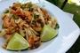 Pad thai s kozicama