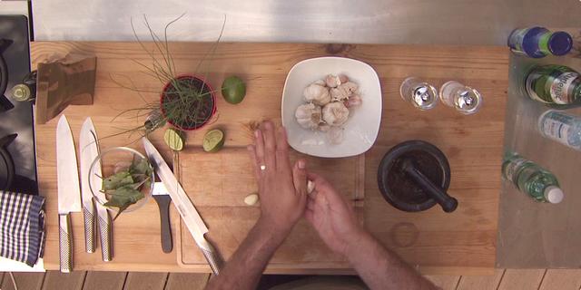 Čišćenje češnjaka