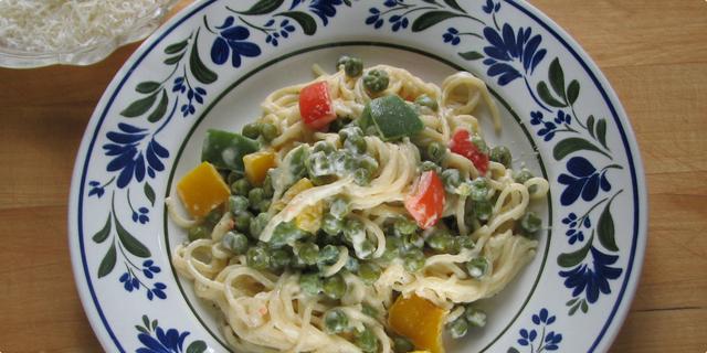 Kremasti špageti