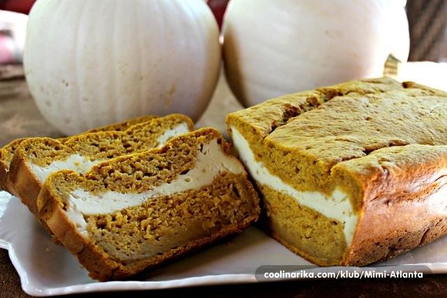 Pumpkin Cheesecake Bread...