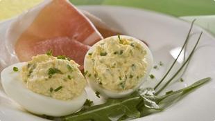 Uskrsna punjena jaja s hrenom