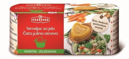 Temeljac za jela - povrtni