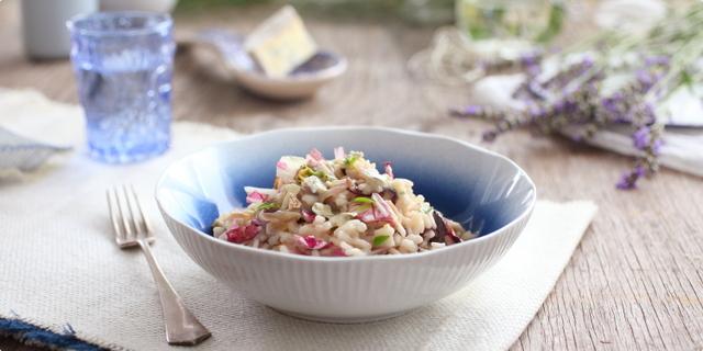Rižoto s radičem i gorgonzolom