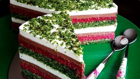 Špinat-malina torta by Snake