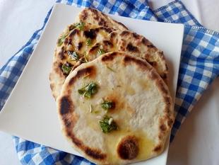 Naan kruh sa praskom za pecivo by LuAnn