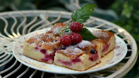 Zuti kolac s visnjama by Snezana BG