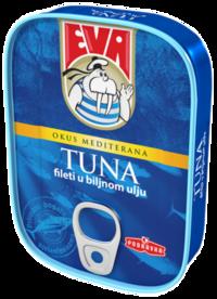Tuna fileti u biljnom ulju
